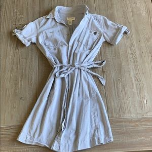 Diesel button down dress